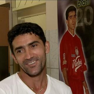 Sinha, jogador do Toluca - brasileiro naturalizado mexicano (Foto: Reprodução/Inter TV Cabugi)