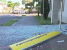 Ladrões explodem caixa eletrônico e fogem com dinheiro em Iguaraçu