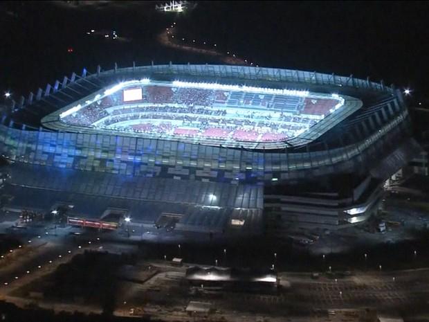 Arena Pernambuco (Gnews) (Foto: Reprodução GloboNews)