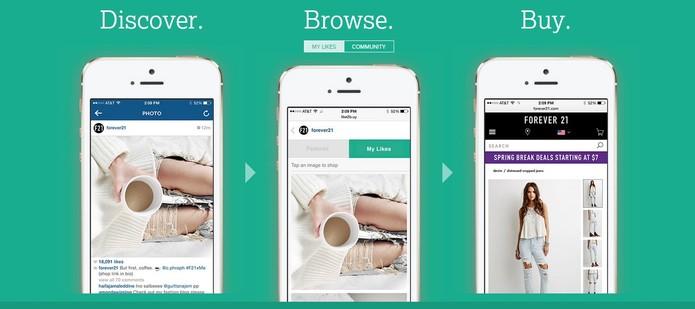Like2Buy simplifica as compras através de dispositivos móveis (Foto: Reprodução/Like2Buy)