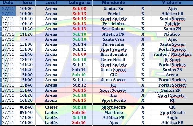 891795d50b Jogos do Campeonato Pernambucano de Base de Futebol 7 (Foto  Divulgação    Federação Society