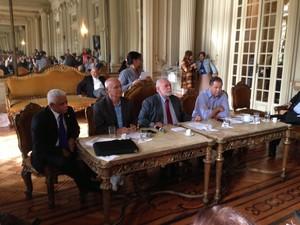 Primeira reunião da CPI dos Ônibus acontece nesta sexta na Câmara Municipal, no Centro do Rio (Foto: Mariucha Machado/G1)