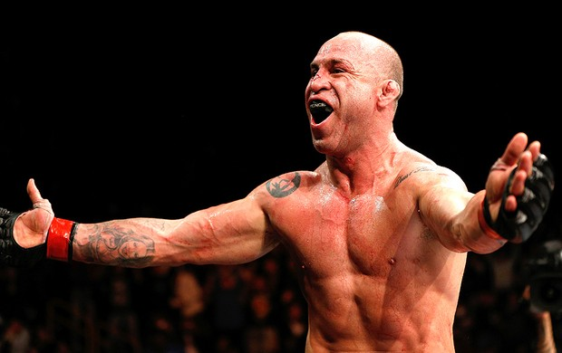 Wanderlei Silva vence luta do UFC contra Brian Stann (Foto: Getty Images)