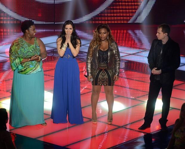 Ellen, Mira e Ludmillah (Foto: The Voice Brasil / Tv Globo)