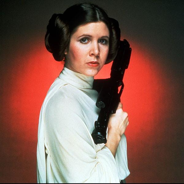Carrie Fisher - 'Star Wars' (1977) (Foto: Divulgação)