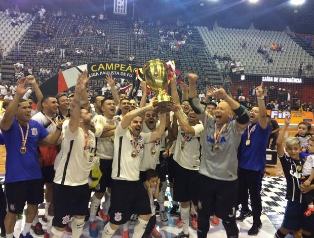Corinthians campeão Liga Paulista de Futsal