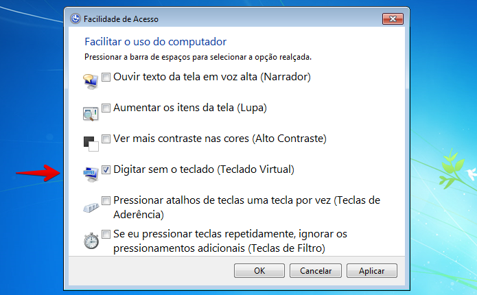 como configurar teclado en windows 8