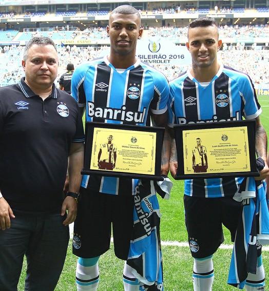 valem ouro (Lucas Uebel/Divulgação Grêmio)