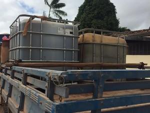 Combustível Dom Eliseu (Foto: Divulgação/Sefa)