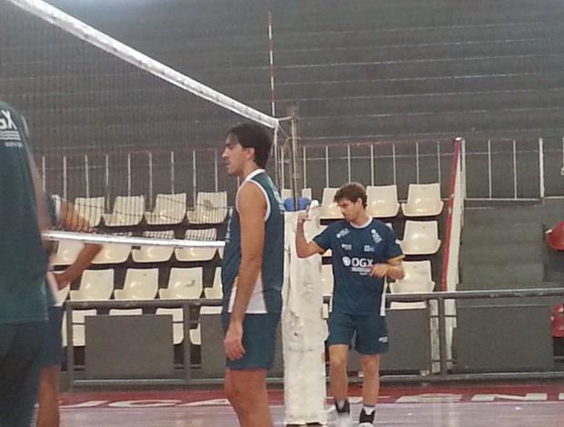 Rodrigão durante treino do Rio de Janeiro (Foto: Marcello Pires)