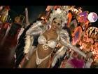 Apresentadora Graciella Carvalho desmaia durante desfile da X-9
