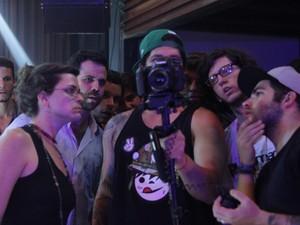 Produção do filme Ontem à noite contou com parceria de diversos cineastas locais (Foto: Vanessa Mota/Divulgação)