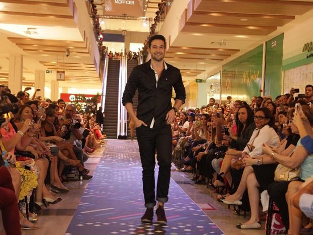 Modelo e ator Bruno Marone participou do 1º dia de SLZ Fashion Pop Up (Foto: De Jesus/O Estado)