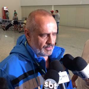 Médico Edgar Tolini Ministério da saúde (Foto: Matheus Castro)