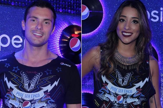 Adriano Toloza e Talita Araujo (Foto: Thiago Duran/AgNews - Marcello Sa Barretto / AgNews)
