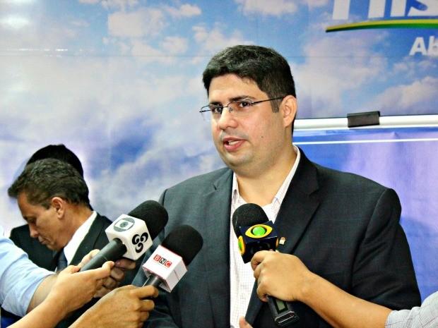 Deputado pretende concorrer à prefeitura por PDT-AM (Foto: Suelen Gonçalves/G1 AM)