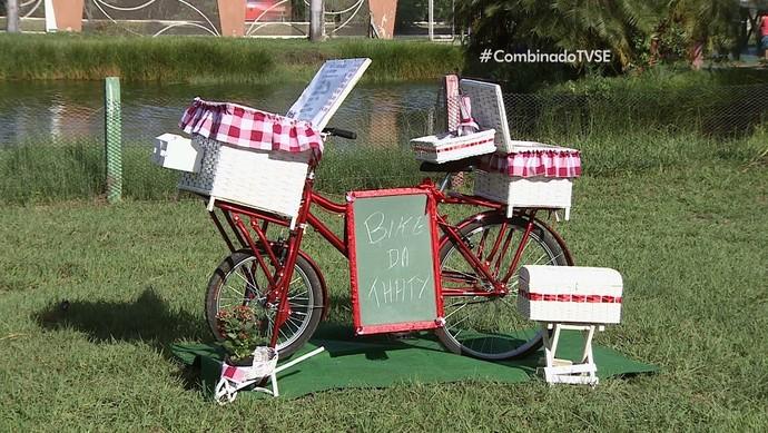 Foodbikes são atração no cenário culinário (Foto: TV Sergipe)