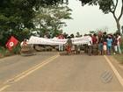 Trabalhadores ligados ao MST interditam trecho da rodovia PA-275