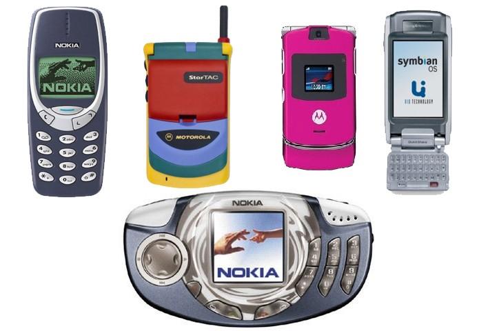 Lembra de algum deses? Loja online é especializada em celulares antigos (Foto: Reprodução/Vintage Mobile)