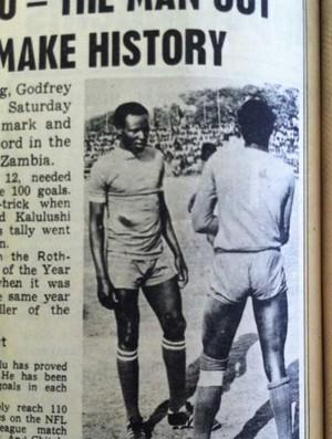 Godfrey Chitalu, da Zâmbia (Foto: Reprodução)
