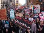 Milhares de pessoas protestam em Manchester contra a austeridade