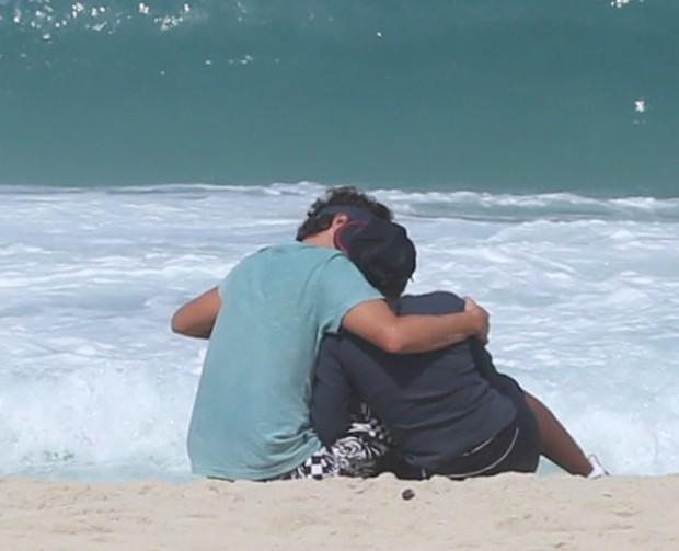 Felipe Dylon e a mulher Aparecida (Foto: André Freitas / Agnews)