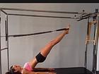Izabel Goulart não deixa o Pilates de lado nem mesmo no fim de semana