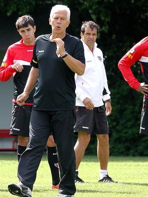 Leão no treino do São Paulo grupo Grupo (Foto: Luiz Pires / VIPCOMM)