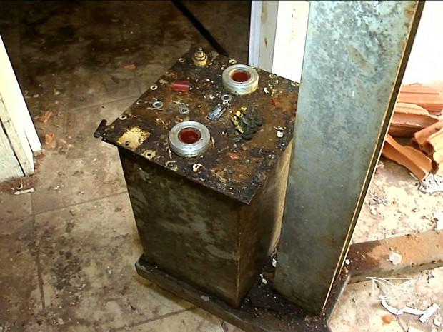 Peça roubada de máquina de Raios X pode ser altamente radioativa (Foto: Reprodução / TV Mirante)