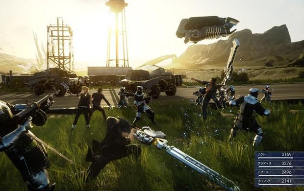 'Final Fantasy XV' é um dos games mais aguardados da Square Enix (Foto: Divulgação)