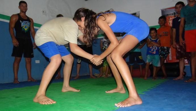 Luta Olímpica Agrestina PE (Foto: Divulgação / Decom Agrestina)