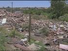 Moradores de Hortolândia reclamam de entulho abandonado por prefeitura