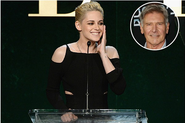Kristen Stewart e Harrison Ford (Foto: Getty Images)