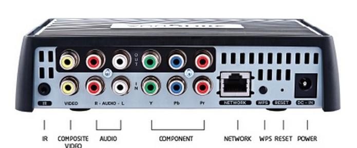 Aparelho não possui entrada HDMI (Foto: Divulgação/Sling Media)