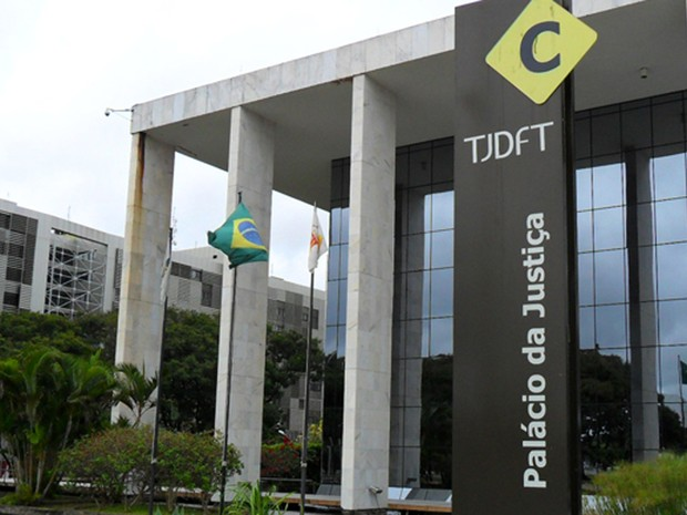 Fachada de anexo do Tribunal de Justiça do Distrito Federal (Foto: Raquel Morais/G1)