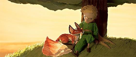 Cena da animação de O Pequeno Príncipe  (Foto: Divulgação)