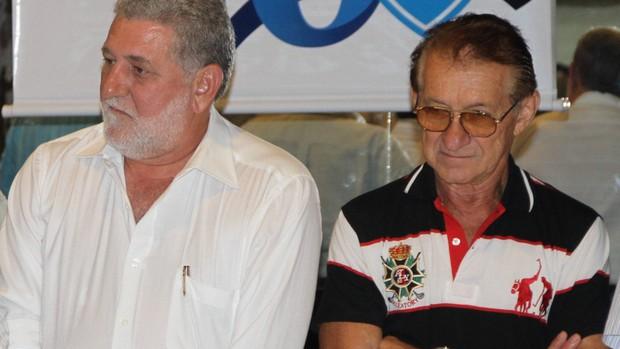 Victor Cunha com seu vice, Ambire Gluck Paul (Foto: Elivaldo Pamplona/Amazonia Hoje)
