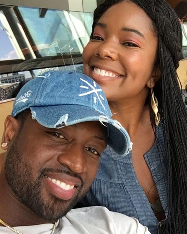 Gabrielle Union e Dwayne Wade (Foto: Instagram)