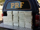 Homem tenta enganar PRF em MS que acha 71 kg de cocaína em carro