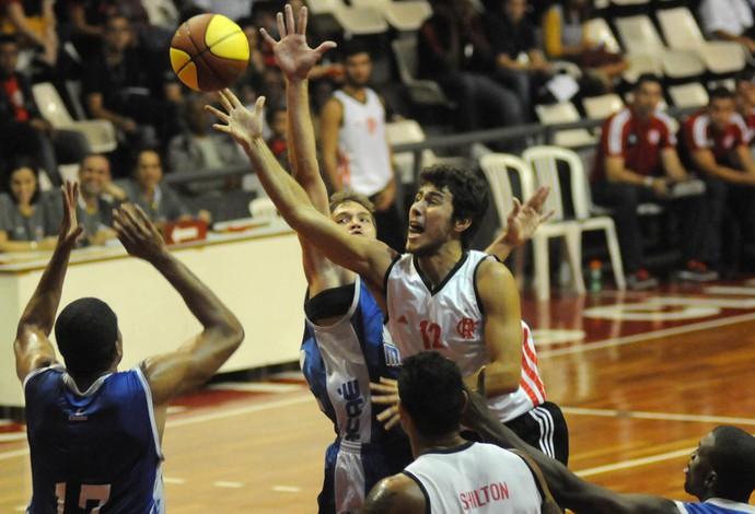 Basquete Flamengo x Macaé (Foto: André Durão / Globoesporte.com)