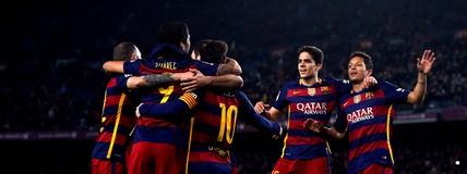 Assista aos gols da goleada do Barça diante do Valencia pela Copa do Rei (Editoria de Arte)