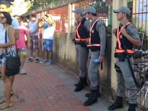 Segurança da Parada Gay conta co  reforço de 70 policiais (Foto: Quésia Melo/G1)