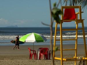 Praia da Enseada ficou em primeiro lugar no ranking de acessibilidade (Foto: Renata de Brito/Prefeitura de Bertioga)