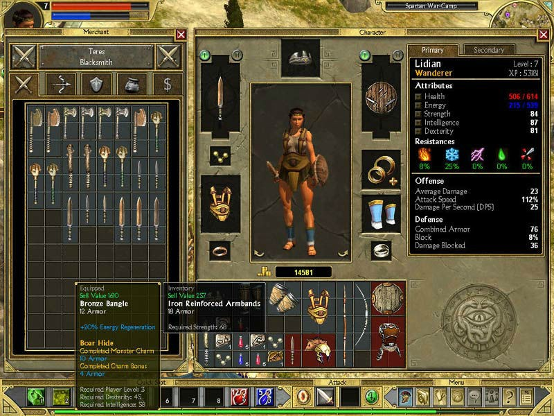 Titan Quest Immortal Throne Builds