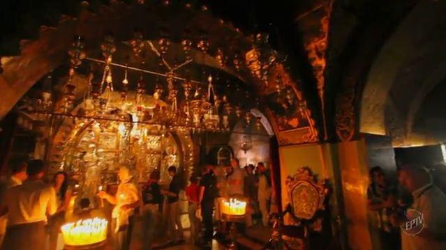 Programa comemora 15 anos numa peregrinação pela Terra Santa  (Foto: Reprodução EPTV)