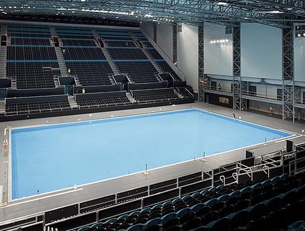 Arena olímpica de polo aquático londres 2012 (Foto: LOCOG)