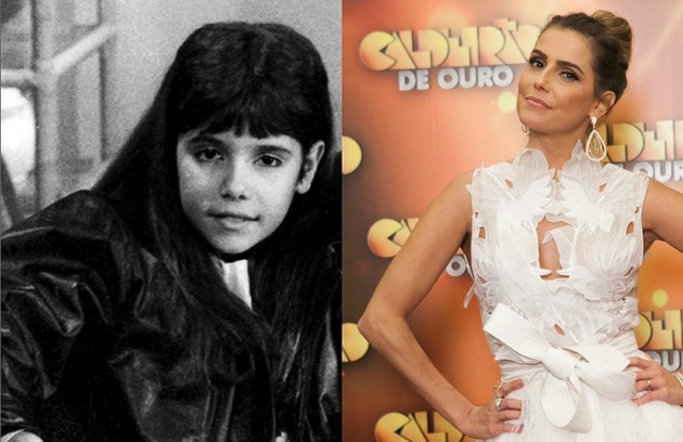 Figura conhecida do público, a atriz Deborah Secco, que estará na próxima novela das 21h de João Emanuel Carneiro, estreou na TV na novela 'Mico Preto', de 1990 (Foto: Divulgação/ TV Globo)