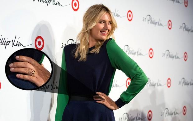 maria sharapova anel tenis (Foto: AP)