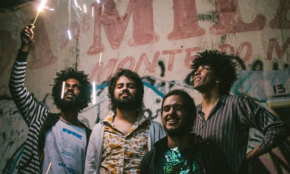 A banda Boogarins (Foto: JF Assessoria/Divulgação)