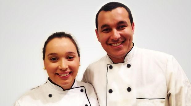 Vanessa oliveira e Ricardo Rosa proprietários do Petisco Brazuca (Foto: Divulgação)